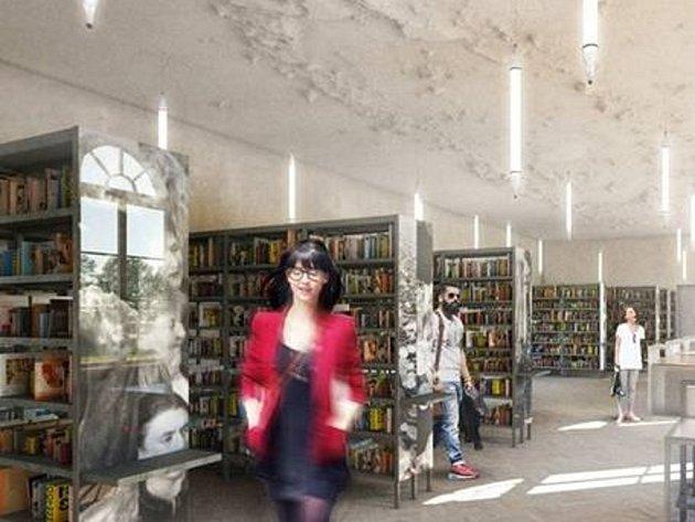 Studie budoucí písecké knihovny.