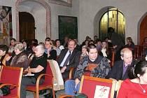 Koncert v kostele Svaté Trojice.