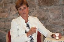 Marie Retková byla také hostem cyklu besed se známými osobnostmi v Městské knihovně Písek.