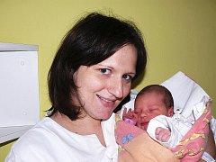 Veronika Hesová, Strakonice, 18. 1. 2012 ve 13.40 hodin, 3100 g, 48 cm.