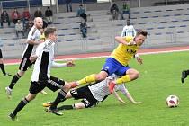 27. kolo ČFL. FC Písek – TJ Jiskra Ústí nad Orlicí 1:2 (1:1)