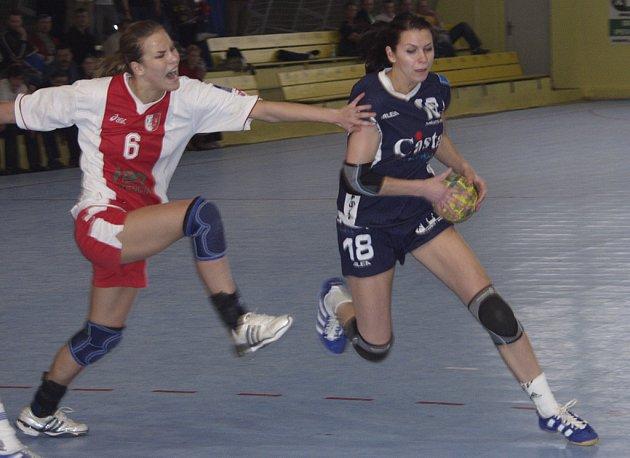 Interligové házenkářky Casty Sokola Písek se v sobotu 25. 10. poprvé v této sezoně představí na domácím hřišt v utkání proti Veselí nad Moravou.