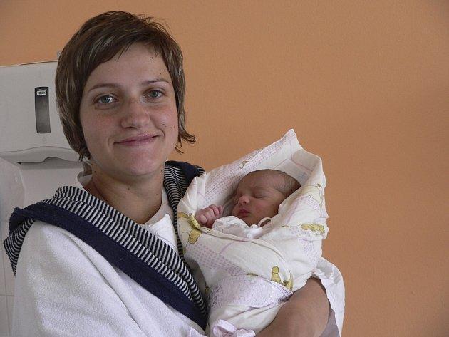 Emma Kofroňová, 2.6.2009, 10.03 hodin, 3400 g, 51 cm, Písek