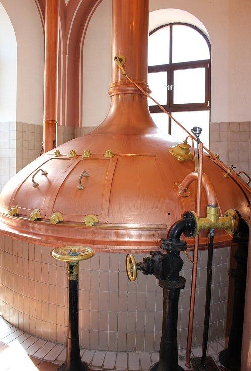 Pivovar v Protivíně.