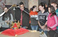 Kopii Svatováclavské koruny si v Prácheňském muzeu v Písku za pět dnů prohlédlo 3500 lidí.