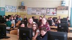 Žáci ZŠ E. Beneše se zúčastnili souboje čtenářů.