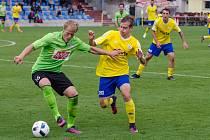 FC Písek - SK Benátky nad Jizerou 2:1 (2:0).