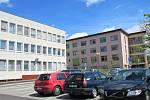 Písecká nemocnice a její okolí.