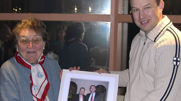 Věnceslava Skřivánková - první polistopadová starostka.