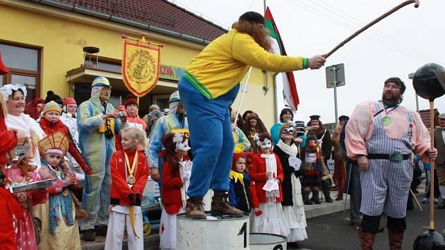 Skalská maškarní olympiáda 2014.