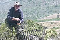 Zoolog Karel Pecl na expedici v Mexiku.