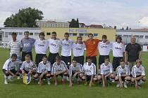 V sobotu 14. srpna zahájí fotbaloví starší dorostenci FC Písek U19 (na snímku) boje v novém ročníku České ligy staršího dorostu. Od 14 hodin hostí mužstvo FC Slovan Liberec, které by mělo patřit k lídrům této soutěže.