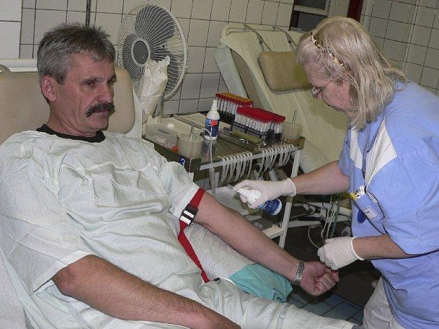 Bezplatný odběr krve - Zdeněk  Podrázský z Milevska