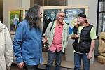 Ve středu 4. dubna v Malých výstavních síních Prácheňského muzea v Písku byla zahájena společná autorská výstava obrazů Petra Mano a Jiřího Steinera.