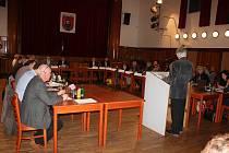 Ustavující zastupitelstvo v Milevsku.