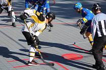 Hokejbalová II. liga: HBC Prachatice B - Pluhův Žďár 5:3.