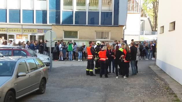 Nácvik evakuace.