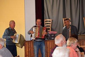 V Hrejkovicích měli tradiční setkání důchodců.