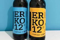 První české recyklované pivo Erko.