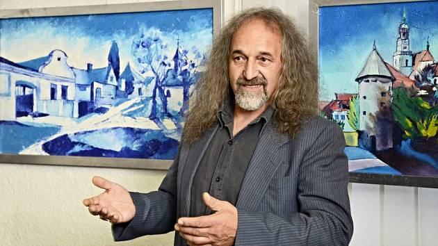 Malíř Jiří Meitner