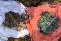 Poklad nalezený v Kučeři.