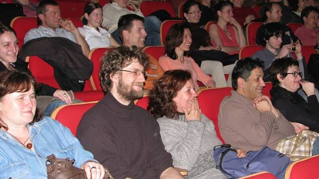 Venkovský učitel - předpremiéra filmu v píseckém kině Portyč dne 12.3.2008.