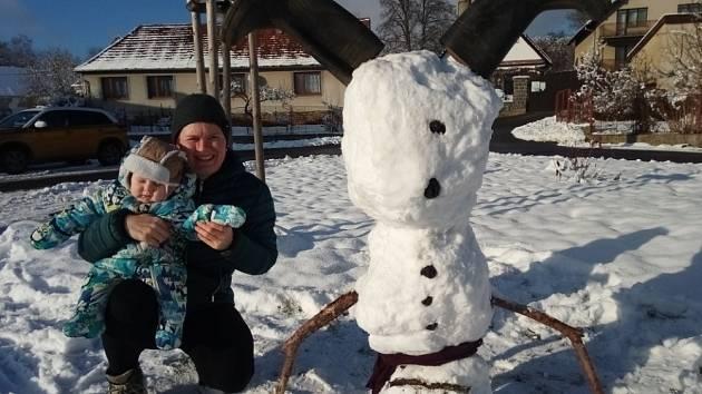 Sněhuláci z Branic.