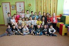 MŠ Sluníčko v Milevsku - třída Zajíčci