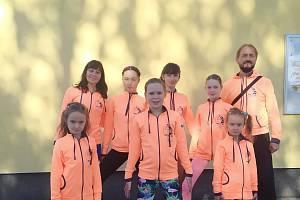 EDITA Sokol AK Písek manželů Šťastných na republikových závodech v Kutné Hoře.