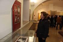 Výstava obrazů a ilustrací Edity Krausové - Šormové v Malé galerii Sladovny.