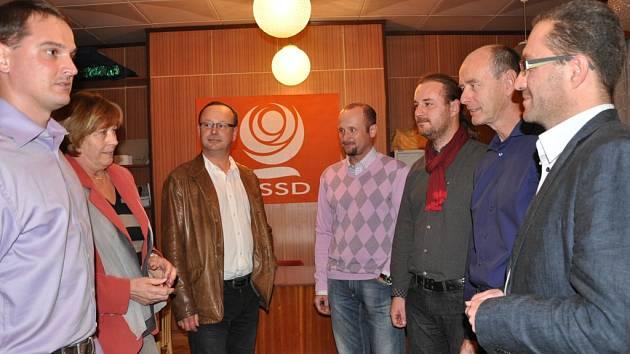 ČSSD pozvala Jihočechy 2012 do své kanceláře v Hradební ulici.