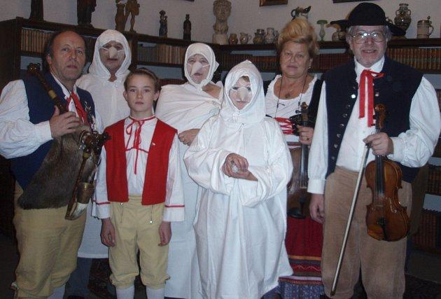 Setkání Lucek s muzikanty ze Základní školy E. Beneše v Písku.