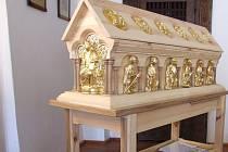 Dotykový model relikviáře sv. Maura
