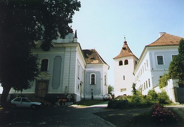 Historické centrum Mirovic