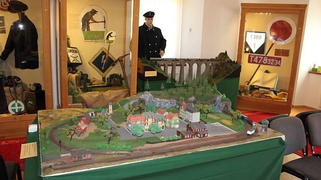 Výstava v Milevském muzeu Po kolejích až domů.