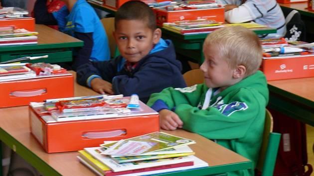 Začátek školy v ZŠ Šobrova v Písku
