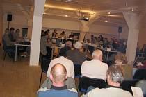 Zastupitelé Písku 20.3. 2008 poprvé jednali ve Sladovně.