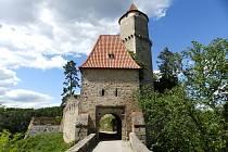 Výlet na hrad Zvíkov.