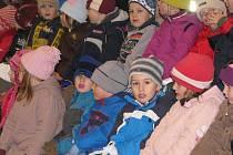 Zábavně-naučný program pro děti mateřských škol při příležitosti svátku svatého Martina v Zemském hřebčinci Písek.