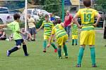 Turnaj mladších žáků na Hradišti.