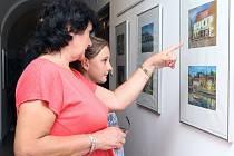 Výstava Petra Hilského v Písku.