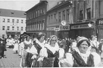 Členové Obce baráčníků Vitoraz v Písku.