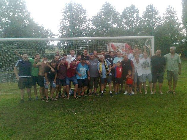Fotbalisté v Klukách oslavovali 20. výročí založení 1. FC Boston Kluky a 70. výročí založení fotbalu v Klukách.