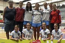 VELKÝ ÚSPĚCH. Házenkářky Sokola Písek vyhrály ve Španělsku mezinárodní turnaj Granollers Cup 2008 v kategorii juniorek.