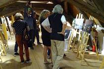V galerii Kaplanka v Protivíně byla zahájena výstava Praha - Genius Loci.