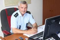 Vedoucí čimelických policistů Jaroslav Brejcha.