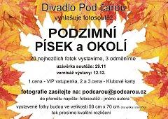 Divadlo Pod čarou uspořádalo podzimní fotografickou soutěž.