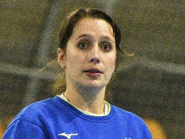Trenérka Písku Kateřina Hromádková.
