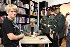 Spisovatel Ladislav Beran křtil svou novou knihu.