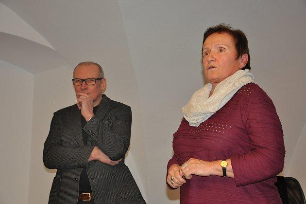 Architekt Josef Pleskot přednášel v Prácheňském muzeu v Písku.